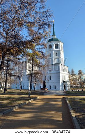 The Holy Savior image church Irkutsk