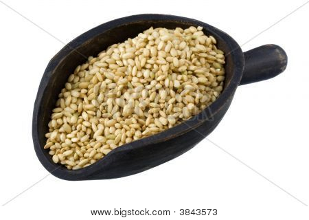 Scoop Of Sweet Brown Rice