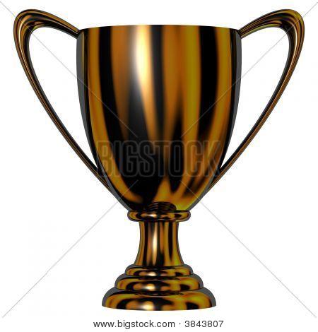 Black Trophy Cup
