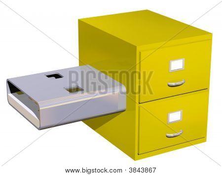Usb Storage Concept