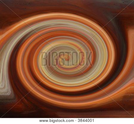 twirled Kupfer