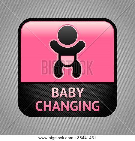 Symbol-Baby-Umkleideräume