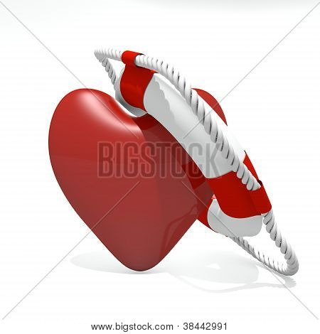 Heart And Life Buoy
