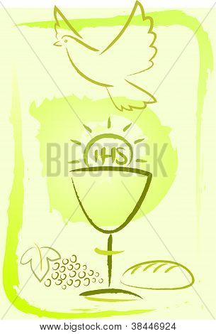 holy communion - background