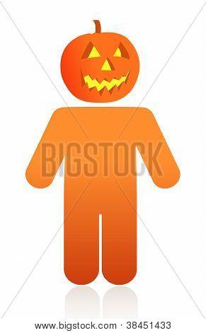 Pumpkin Face Icon