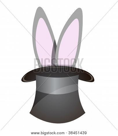 Rabbit Coming Out Of A Hat