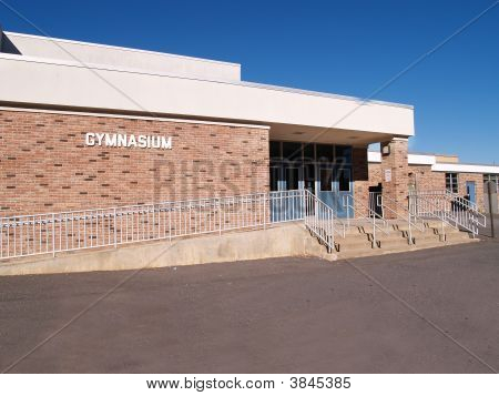 School Gymnasium Entrance