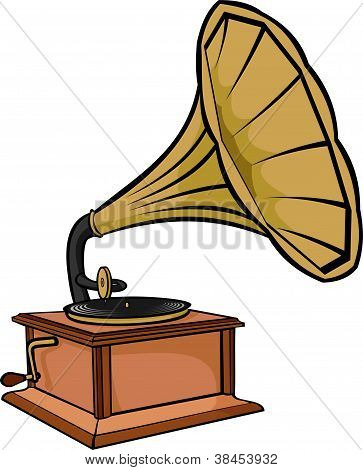 phonograph - vintage gramophone