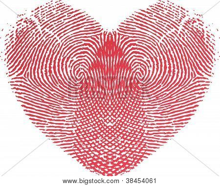 Fingerprint Heart