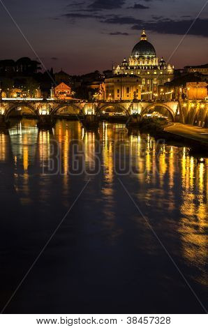 Noche en Vatikan
