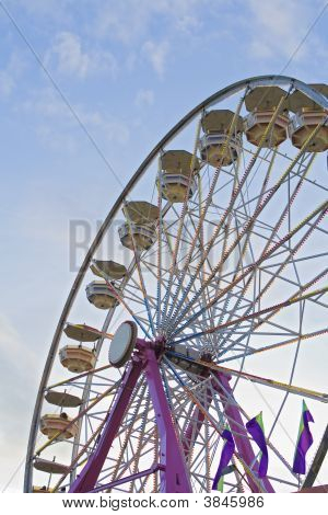 Ferris Wheel At The Fair