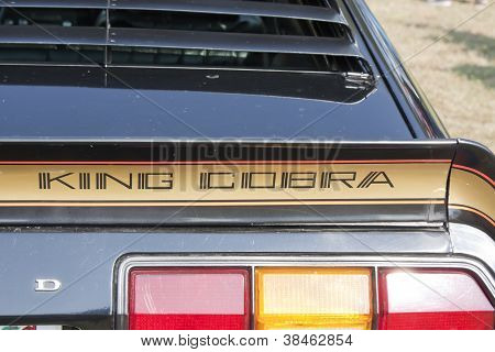1978 Ford King Cobra Rear Lights And Name
