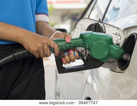 Refueling Gasoline