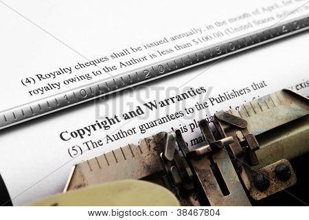 Copyright e garantias