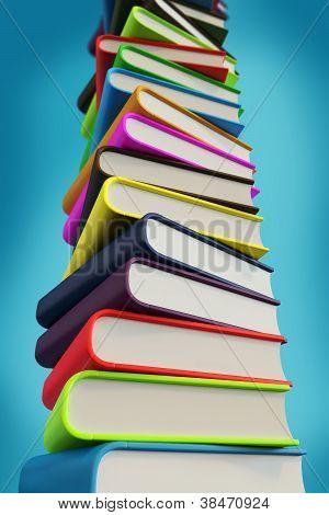 Big pile of 3d books