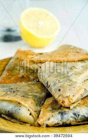 Baklavas, Lemon And Water