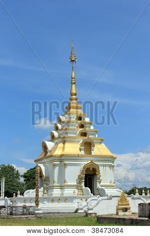 The pagoda of Thailand