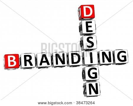 3D Design Branding Crossword