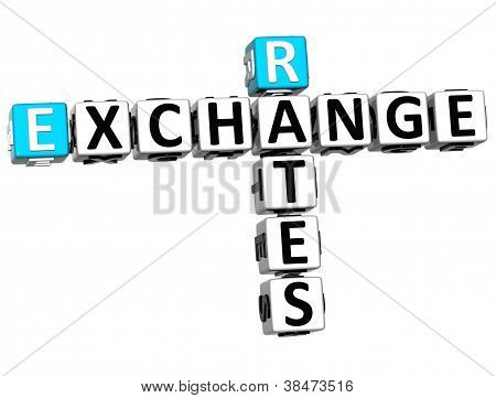 3D Rates Exchange Crossword