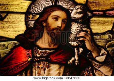 Jesus With Lamb