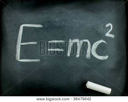 E=mc� Albert Einsteins Physical Formula