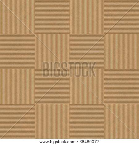 Seamless Brown Geometric Pattern Mosaics Background
