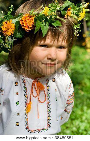 Pretty Ukrainian Girl Focused Look