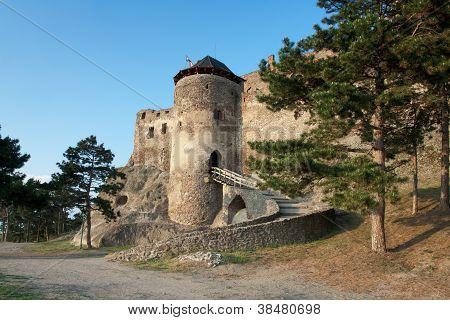 Medieval Royal Boldogko Castle In Tokaj Region Hungary