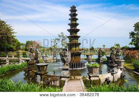 Royal Water Palace In Tirthagangga, Bali, Indonesia