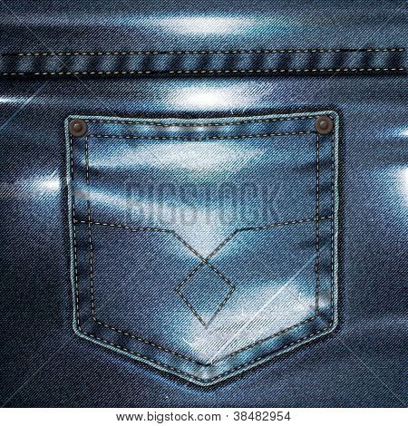Jeans Vector Background