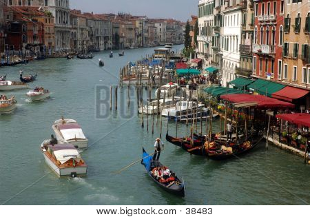 Grand Cannel Of Venice