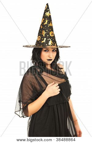 Beautiful Witch Woman