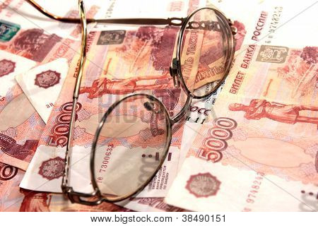 Heap soft money and old spectacles