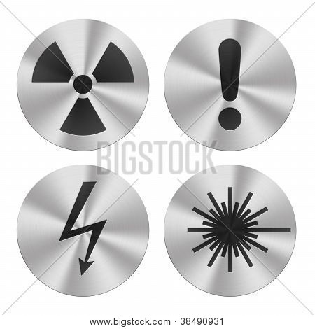 Hazard group icons