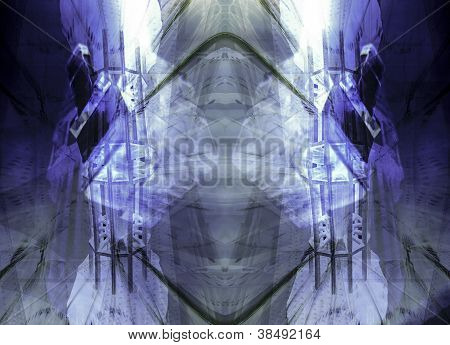 Sci-fi Abstract Background