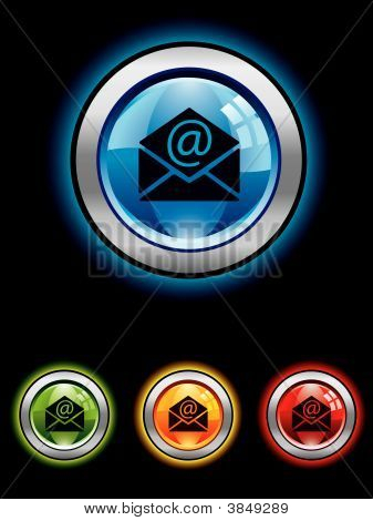 Glossy Email Button