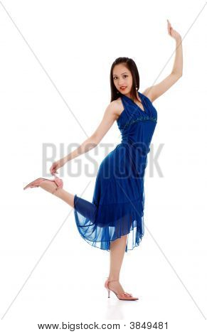 Oriental Woman Dancing