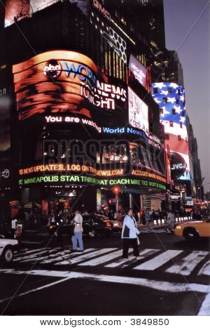 Times Square Of New York