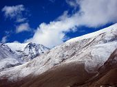 pic of sherpa  - Landscape at North Everest Base Camp in Tibet - JPG