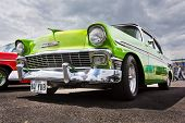 Vintage 1956 Green Chevrolet Bel Air