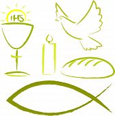 stock photo of chalice  - christian symbols  - JPG