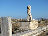 Monument At Delos poster
