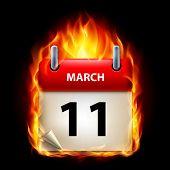 Постер, плакат: Сжигание календарь