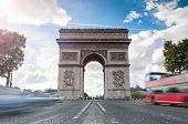 Triumphal Arch In Paris.