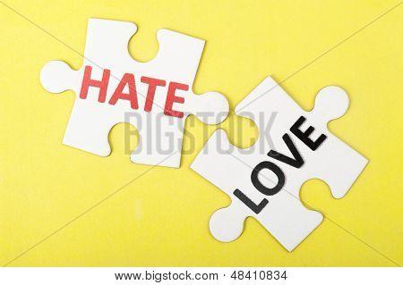 Hate Versus Love