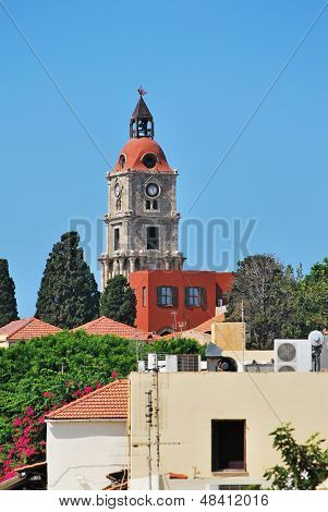 Rhodes Landmark Clock Tower