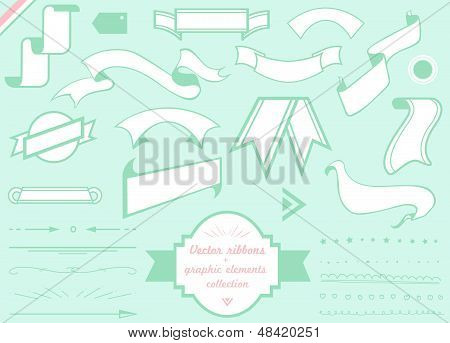 vector ribbons large pack