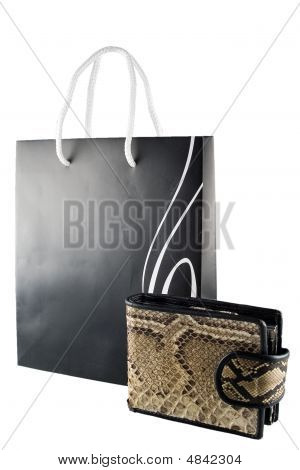 Shopping Bag And Purse