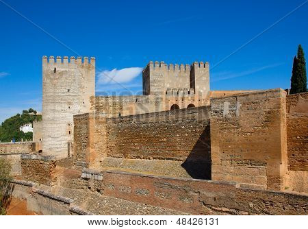 Citadel  of Alhambra, Granada, Spain