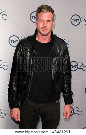 LOS ANGELES - JUL 24:  Eric Dane arrives at TNT's 25th Anniversary Party at the Beverly Hilton Hotel on July 24, 2013 in Beverly Hills, CA